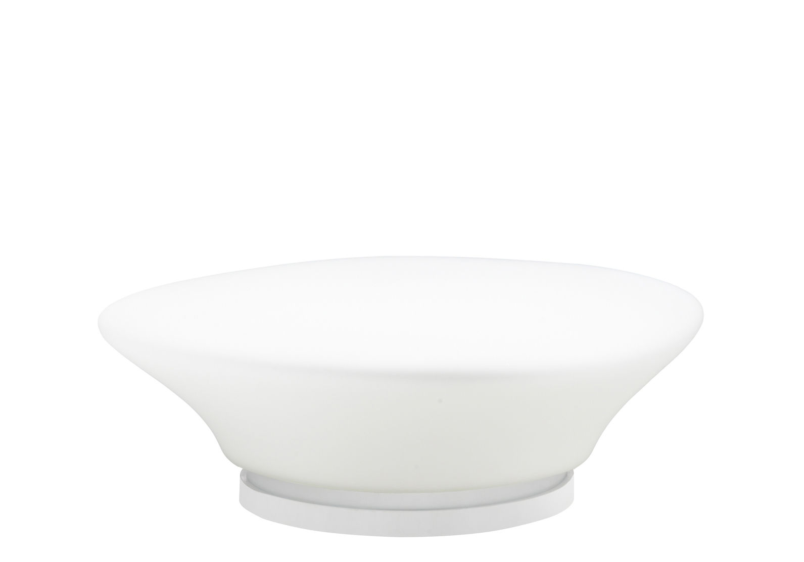Lighting - Table Lamps - Mycena Table lamp - Ø 38 cm by Fabbian - White - Ø 38 cm - Glass