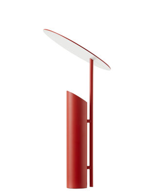 Lighting - Table Lamps - Reflect Table lamp - / Verner Panton (1980) by Verpan - Red - Epoxy lacquered steel
