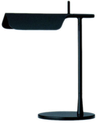 Lighting - Table Lamps - Tab T LED Table lamp - Table lamp LED by Flos - Black - Aluminium, PMMA