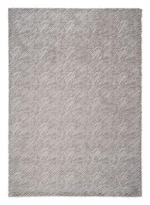 Hurican Teppich / 170 x 240 cm - gestrickt - Toulemonde Bochart - Weiß,Silber