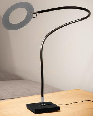 Mini Giulietta LED Tischleuchte / Ø 9 cm - Catellani & Smith - Metall glänzend
