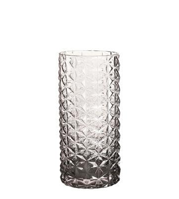 Decoration - Vases - 70 Large Vase - / Ø 12 x H 25 cm by & klevering - H 25 cm / Grey - Glass