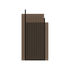Flos Small Vase - / Fluted glass - H 30 cm by AYTM