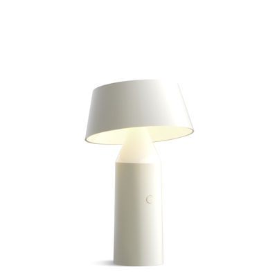 Lighting - Table Lamps - Bicoca Wireless lamp by Marset - White - Polycarbonate