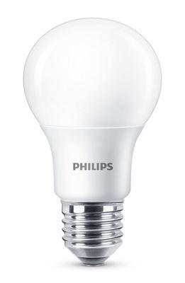 Ampoule LED E27 Standard dépolie / Dimmable - 8,5W (60W) - 806 lumen - Philips blanc dépoli en verre