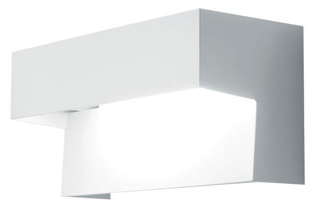 Luminaire - Appliques - Applique Aru - Danese Light - Blanc - Version fluorescente - Acier laqué