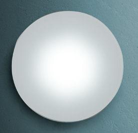 Luminaire - Appliques - Applique Sole /Plafonnier - 144 LED - Rond - Fontana Arte - Blanc - Corian, Verre