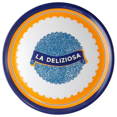 Arts de la table - Assiettes - Assiette de présentation Bel Paese - La Deliziosa / Ø 32 cm - Porcelaine - Bitossi Home - Deliziosa - Porcelaine