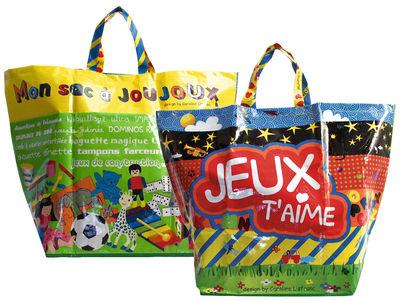 Decoration - Children's Home Accessories - à joujoux Bag by Caroline Lisfranc - Multicolor - Polypropylene