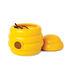 Boîte magnétique Busy Bees / + 20 trombones abeille - Pa Design