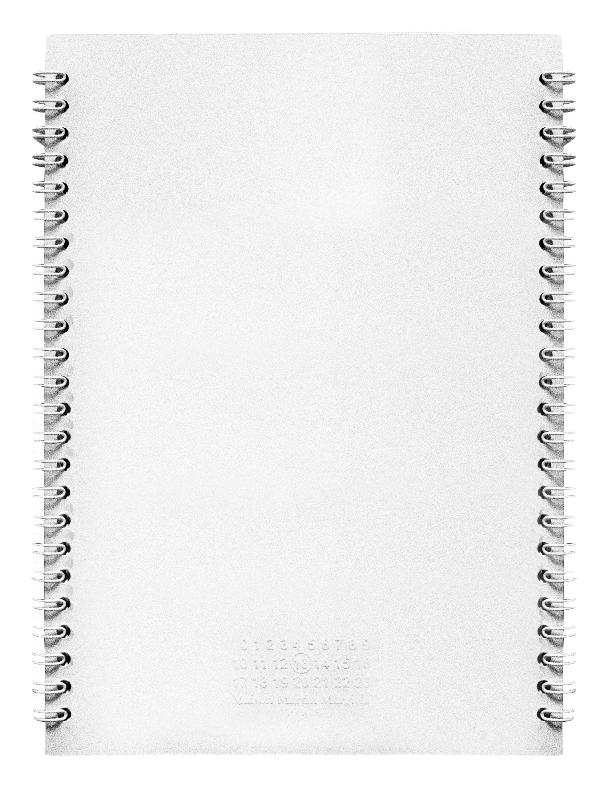 Déco - Accessoires bureau - Carnet Claustrophobe M - Maison Martin Margiela - 14,8 cm x 21 cm - Blanc - Papier