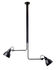 N°314 Double Ceiling light - / 2 telescopic arms - L 86 to 150 cm by DCW éditions