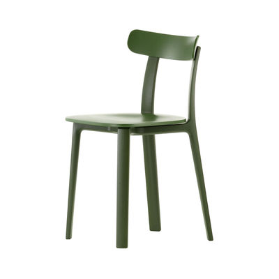 Furniture - Chairs - APC Chair - / Polypropylene by Vitra - Ivy green - Tinted polypropylene