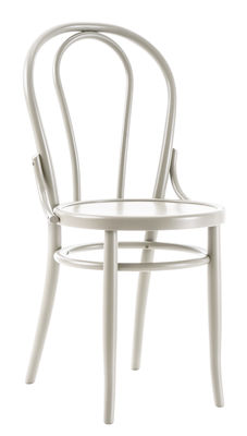 Chaise N° 18 / Réédition 1876 - Wiener GTV Design blanc en bois