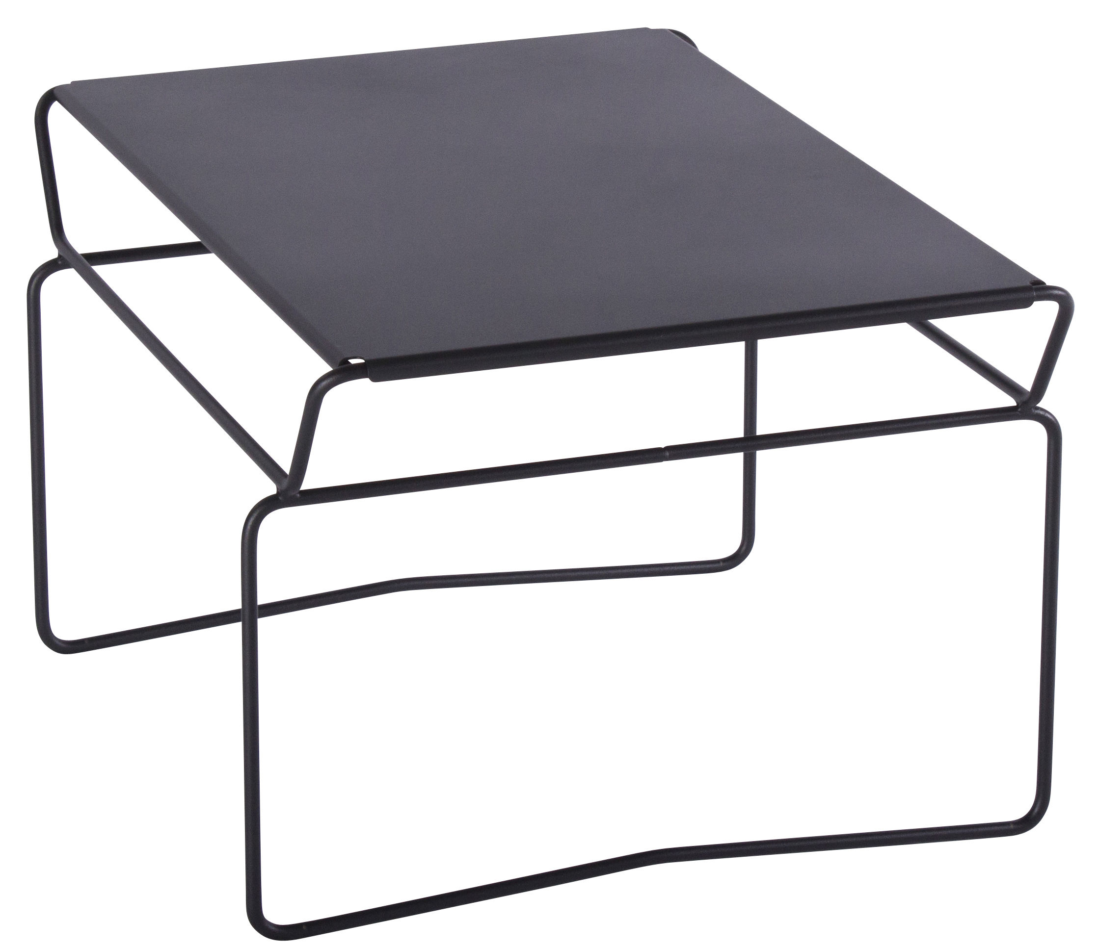 Furniture - Coffee Tables - Fil Master Coffee table by AA-New Design - Black top / Black structure - Epoxy lacquered steel