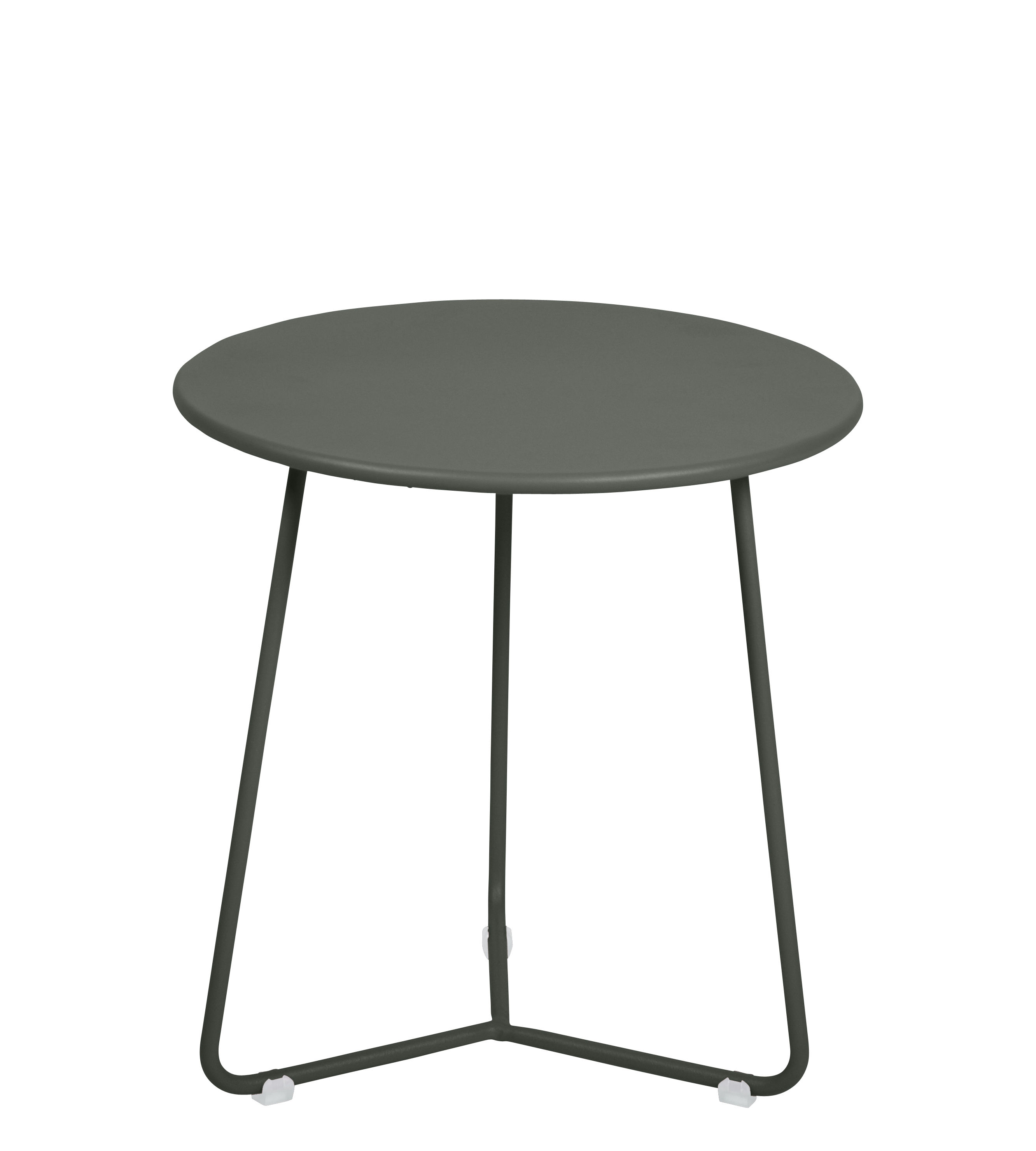 Furniture - Coffee Tables - Cocotte End table - / Stool - Ø 34 x H 36 cm by Fermob - Rosemary - Painted steel