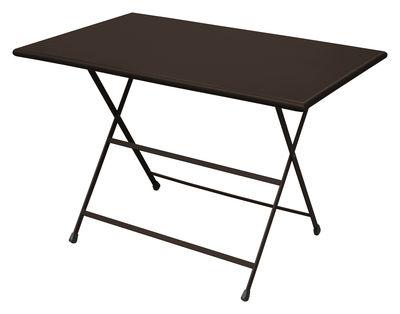 Foldable table Arc en Ciel by Emu - Brown | Made In Design UK