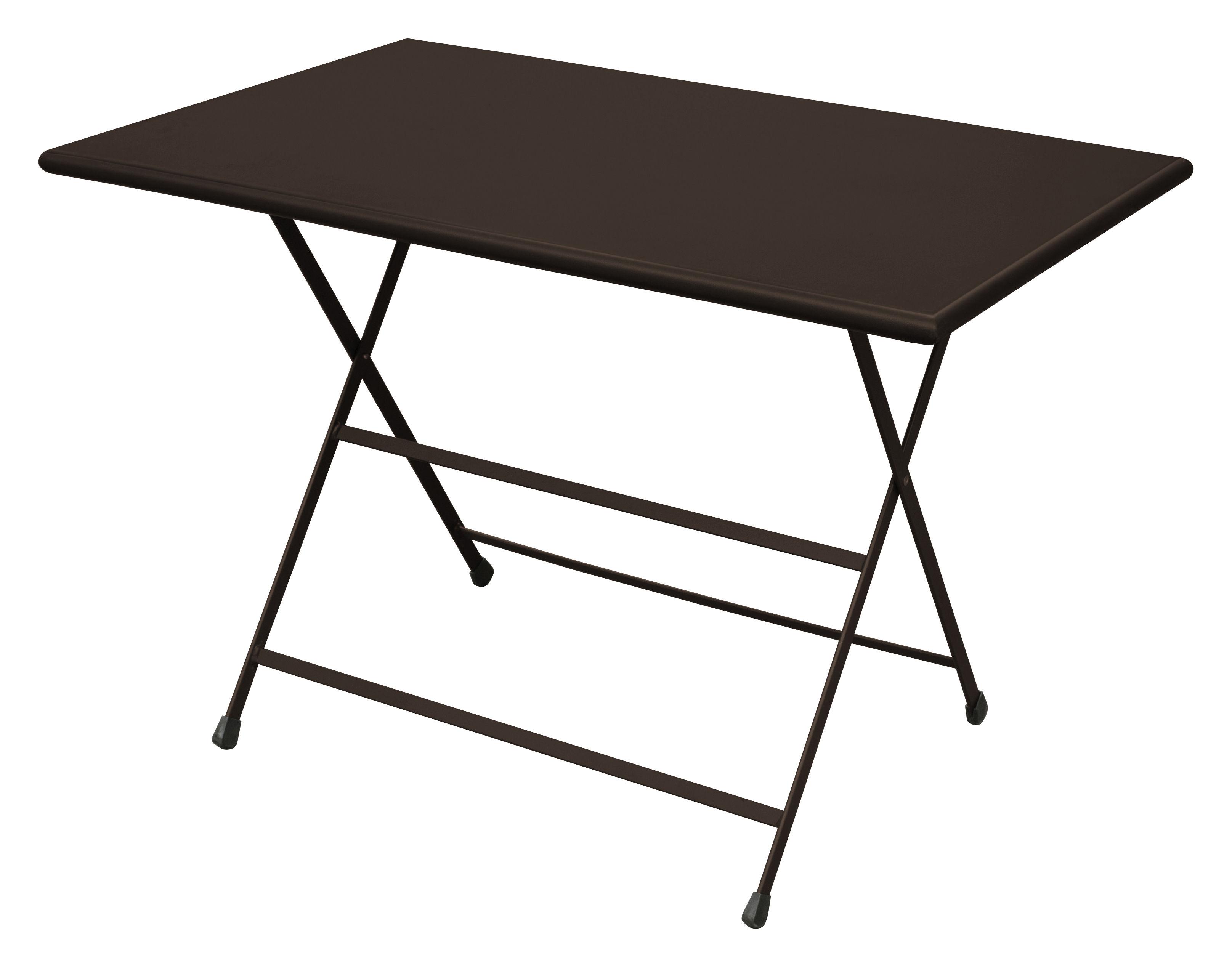 Arc en Ciel Foldable table - 110 x 70 cm - Foldable by Emu