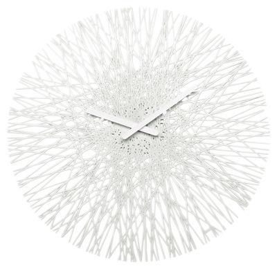 Déco - Horloges  - Horloge murale Silk - Koziol - Blanc - Polycarbonate