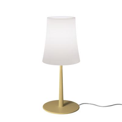 Image of Lampada da tavolo Birdie Easy Small - / H 43 cm di Foscarini - Giallo - Materiale plastico