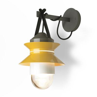 Lampe Santorini Marset Jaune Moutarde Gris L 450 X H 28 5 X O