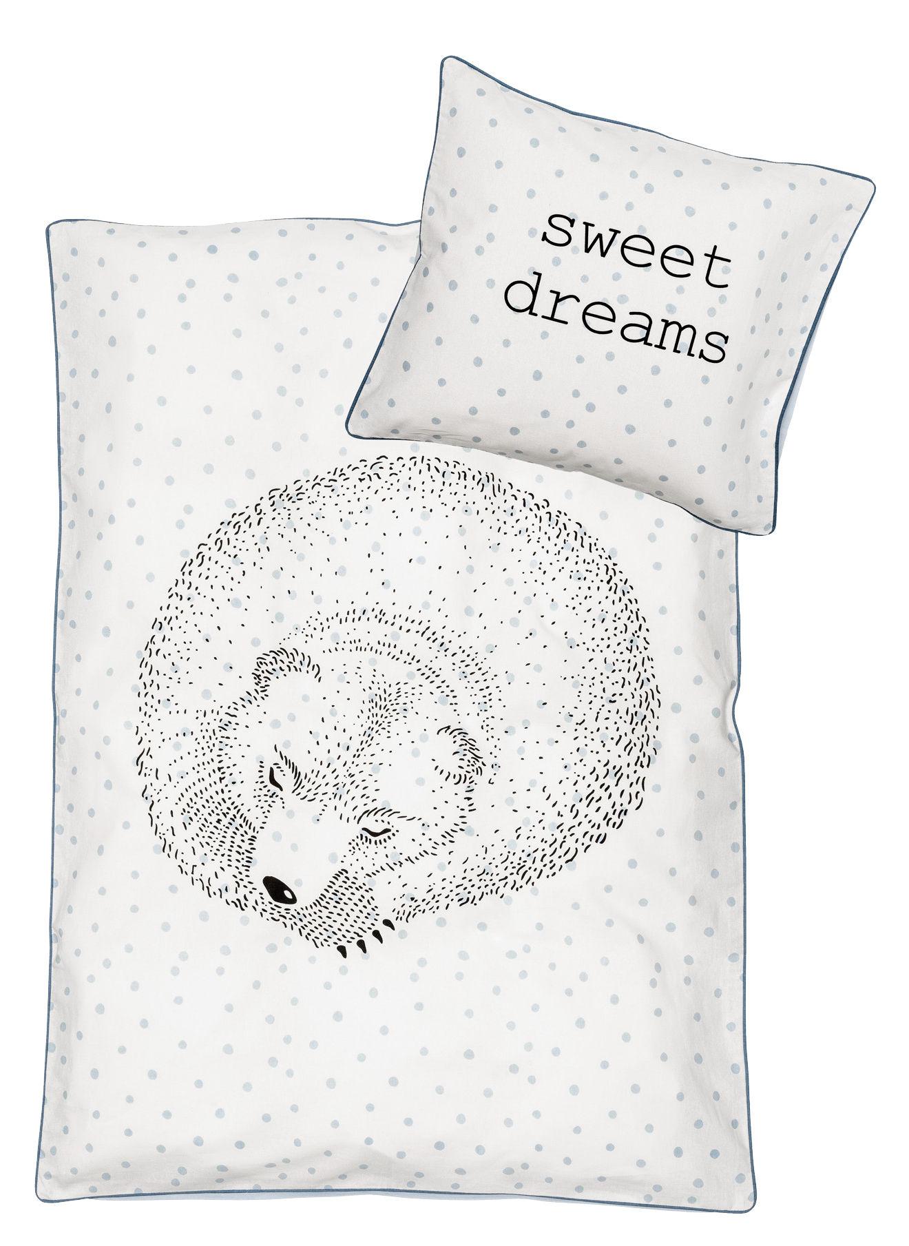 Déco - Pour les enfants - Parure de lit enfant Rasmus / 100 x 140 cm - Bloomingville - Ours - Coton