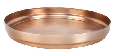 Tavola - Vassoi  - Vassoio Rondo / Ø 45,5 cm - XL Boom - Ø 45,5 cm - Rame - Acciaio inossidabile