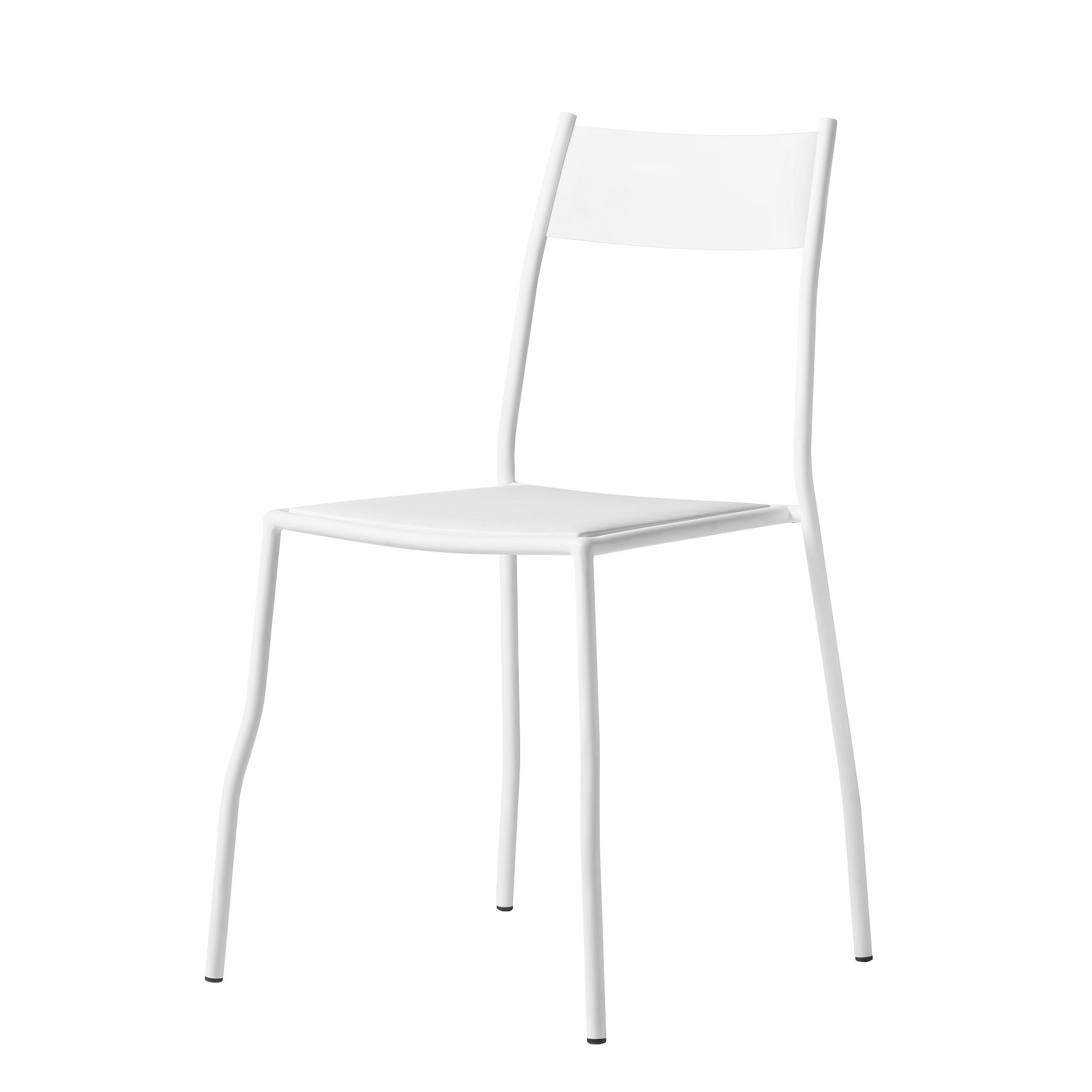 Furniture - Chairs - Primasedia Stacking chair - / Steel by Opinion Ciatti - White - Steel