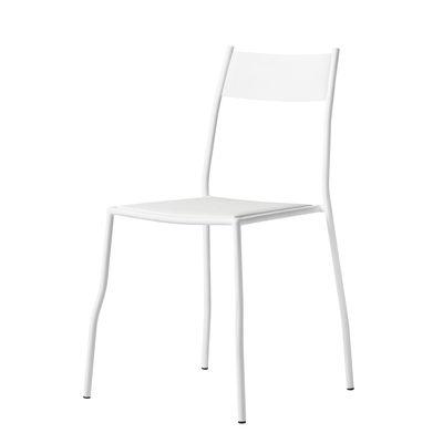 Möbel - Stühle  - Primasedia Stapelbarer Stuhl / Stahl - Opinion Ciatti - Weiß - Stahl