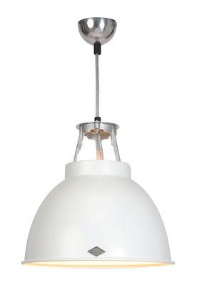 Suspension Titan 1 / Métal - Ø 36 x H 36 cm - Original BTC blanc en métal