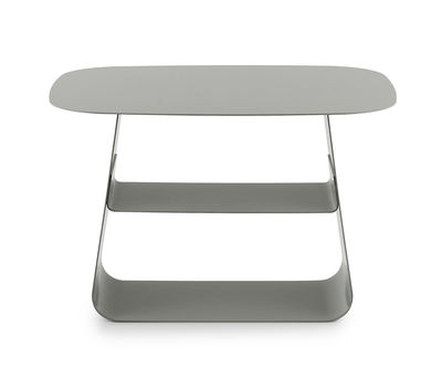 Table d'appoint Stay / 40 x 52 cm - Normann Copenhagen gris en métal