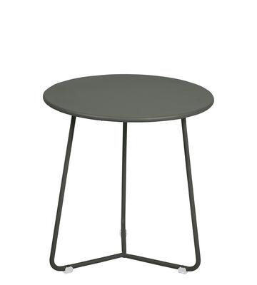 Arredamento - Tavolini  - Tavolino d'appoggio Cocotte - / Sgabello - Ø 34 x H 36 cm di Fermob - Rosmarino - Acciaio verniciato