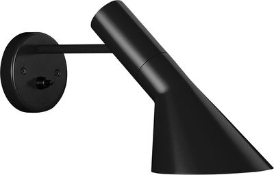 Lighting - Wall Lights - AJ Wall light by Louis Poulsen - Black - Steel