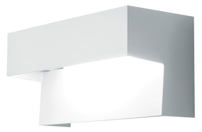 Lighting - Wall Lights - Aru Wall light by Danese Light - White - Fluorescent version - Lacquered steel