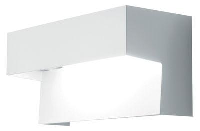 Leuchten - Wandleuchten - Aru Wandleuchte - Danese Light - Weiß - mit Leuchtstofflampe - lackierter Stahl