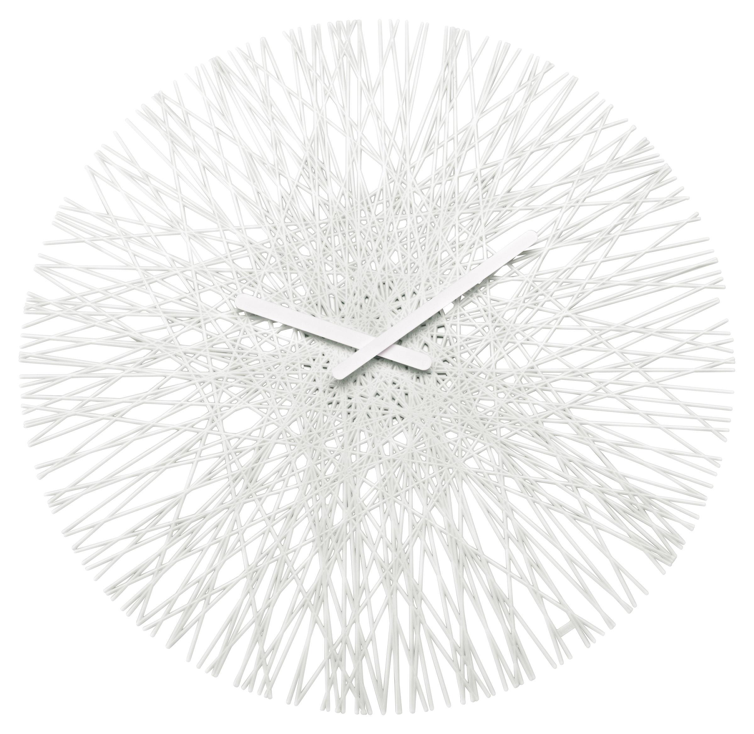 Dekoration - Uhren - Silk Wanduhr - Koziol - Weiß - Polykarbonat