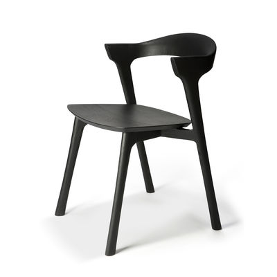 Furniture - Chairs - Bok Armchair - / Solid oak by Ethnicraft - Black - Solid oak