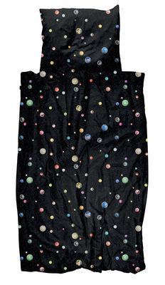Image of Biancheria da letto 1 persona Univers - / 140 x 200 cm di Snurk - Multicolore - Tessuto