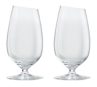 Tavola - Bicchieri  - Bicchiere da birra - / Set da 2 - 35 cl di Eva Solo - Trasparente - Vetro soffiato a bocca