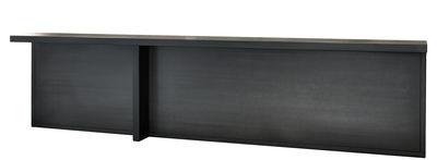 Console Atrium / Métal - L 283 x P 30 cm - Zeus noir phosphaté en métal