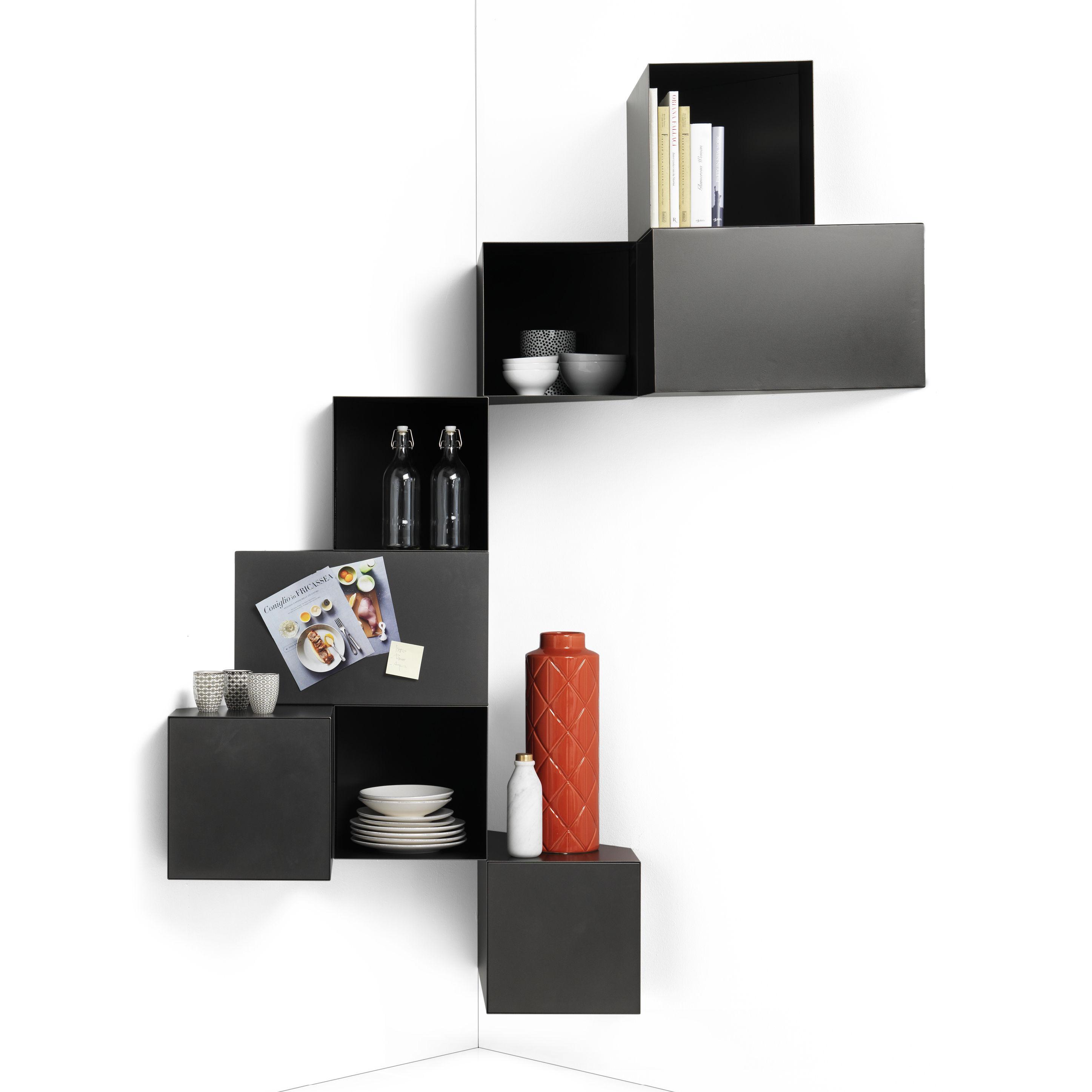 Mobilier - Etagères & bibliothèques - Etagère Cellula / Métal - 8 modules - Mogg - Bruni - Métal peint