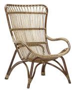 Chaise Monet Sika Design antique en fibre végétale