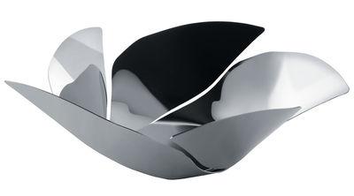 Tischkultur - Körbe und Tischgestecke - Twist Again Korb / Ø 29 cm - Alessi - Stahl - rostfreier Stahl