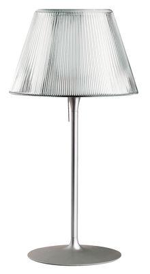 Luminaire - Lampes de table - Lampe de table Romeo Moon T1 - Flos - Hauteur 66.5 cm - Métal, Verre