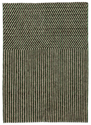 Decoration - Rugs - Blur Rug - / Afghan wool - 170 x 240 cm by Nanimarquina - Green - Wool