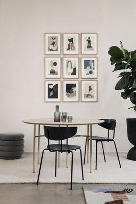 Sedia impilabile Herman Legno & metallo di Ferm Living