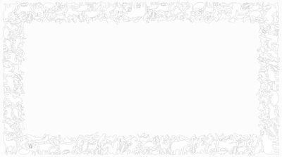 Sticker Panthéon Rectangle - Domestic blanc en matière plastique