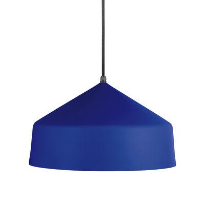Luminaire - Suspensions - Suspension Ézaro / Métal - Ø 40 cm - OUTDOOR / Câble avec prise (branchement secteur) - EASY LIGHT by Carpyen - Bleu Océan - Métal