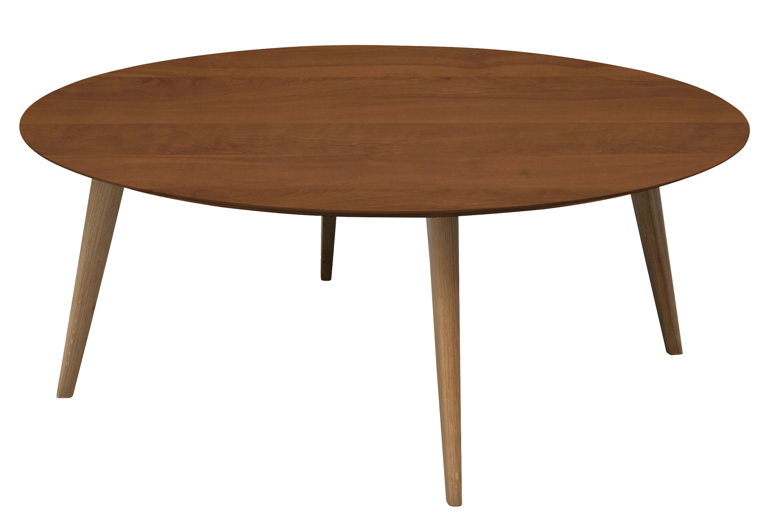 Table basse lalinde ronde sentou edition bois naturel made in design - Sentou table basse ...