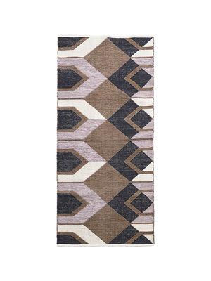 Déco - Textile - Tapis Art / 90 x 213 cm - Coton - House Doctor - 90 x 213 cm / Multicolore - Coton
